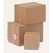 Гофрокартон, ящики, упаковка. фото