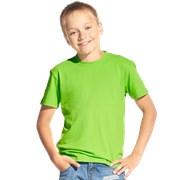 Футболка детская StanKids 06 Ярко-зелёный 10 лет фото
