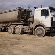 Грузоперевозки МАЗ 64229 30 тонн, самосвал фото