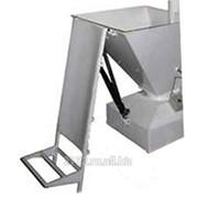 Мешкоопрокидыватель для просеивателя нерж. металл фото