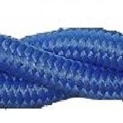 Матерчатый провод 2х1,5 Blue(синий) арт 1021507 фото
