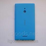 Крышка задняя синяя для Nokia XL 3581 фото
