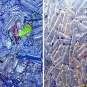 Утилизация пластиковых бутылок фото