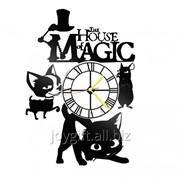 Часы Кот Гром и заколдованный дом 523 фото