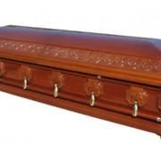 Гроб деревянный 029 фото
