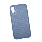 Силиконовый чехол «LP» для iPhone Xr «Silicone Dot Case» (синий/коробка) фото