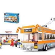 Конструктор SLUBAN Автобусы фото