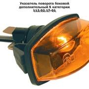 Указатель поворота боковой дополнительный 5 категории 112.02.17-01 фото