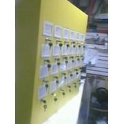 Механический стенд с визитками фото