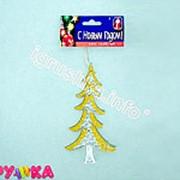 Украшение подвеска елка акриловая 36-0042 фото