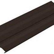 Сайдинг металлический, шоколад RAL 8017, м2 фото