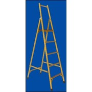 Лестница алюминиевая двухсекционная Луч ССС-1,5 фото