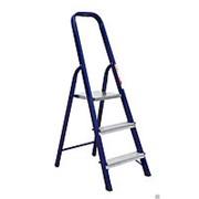 АЛЮМЕТ Лестница-стремянка Алюминиевая матовая четырехступенчатая, Ам704 фото