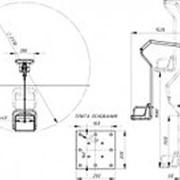 INVAPROM Подъемник для бассейна с гидравлическим приводом для инвалидов ИПБ-170Г арт. Ipr12701 фото