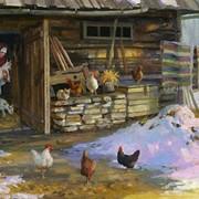 Картины художников маслом пейзаж фото