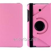 Чехол книжка TTX для Asus Fonepad 7 FE375CG Leather case 360 Pink(TTX-FE375CGPK), код 75213 фото
