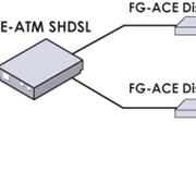 Модем FlexGain Access Discovery ATM Shdsl Router фото