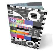 Обложка кожаная для паспорта Телевизионная заставка фото