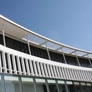 Проектирование солнцезащиты зданий фото