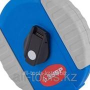 Мерная лента Зубр Эксперт, стальное полотно с нейлоновым покрытием, двухкомпонентный корпус, 50м Код: 34165-50_z01 фото
