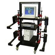 Стенд диагностический компьютерный КДС-5К для регулировки углов установки колёс легковых автомобилей фото