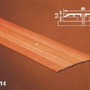 Порог одноуровневый с открытым креплением арт АПС 014 длина 1800 мм фото
