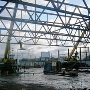 Монтаж металлоконструкций зданий и сооружений фото