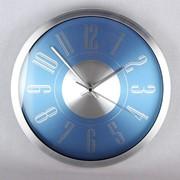 Часы настенные 30.5х30.5х4.5см KR272 алюминевый корпус фото