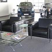 Диваны и кресла для офиса фото