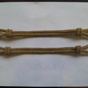 Шнур филигранный металлизированный (латунь) фото