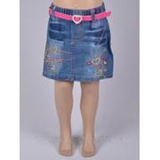 Детская юбка джинсовая и Артикул 5331 фото
