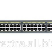 Коммутатор Cisco Catalyst 2960 Plus 48 10/100 PoE + 2 1000BT +2 SFP LAN Base (WS-C2960+48PST-L) фото