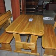 Сосновая мебель для дома и сада, ресторана и кафе в Крыму фото