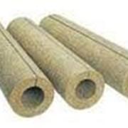 Цилиндры базальтовые для труб, 80кг/м3, диаметр 57мм, толщина 40мм фото