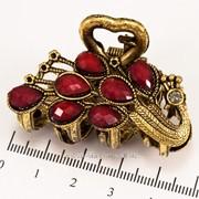 Краб (5 см.) бронзовый с цветными камнями 213276(43) фото