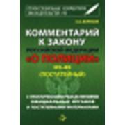 Комментарий к Закону РФ О ПОЛИЦИИ фото