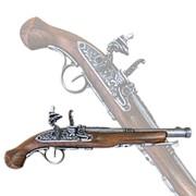 Пистоль системы флинтлок 18 века фото