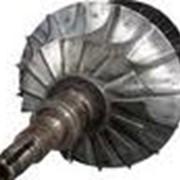Реставрация роторов , перечеканка и проточка уплотнительных гребней, лабиринтных уплотнений; фото