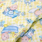 """Постельное белье для новорожденных ясельный комплект из бязи """"Карапуз"""" фото"""