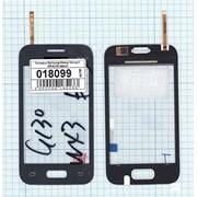 Сенсорное стекло (тачскрин) для Samsung Galaxy Young 2 SM-G130 серое, Диагональ 3.5 фото