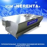 Горизонтальные установки охлаждения молока открытого типа УОМ 4000 фото