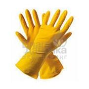 Перчатки резиновые Ваш бюджет l размер 8 1 пара 48840 фото