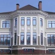 Материалы для декоративного украшения фасада зданий фото