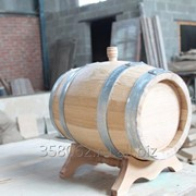 Бочка дубовая 10 литров Кавказский дуб фото