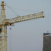 Аренда башенного крана КБМ-401П фото