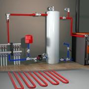 Монтаж систем отопления в Перми фото