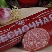 Колбаса копченая Чесночная фото