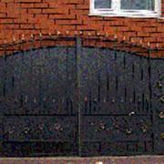 Ворота распашные РВ-15. Ворота кованые в ассортименте фото