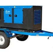 Трехфазный дизельный генератор АД-12С-Т400-1РМ13, 12кВт, в кожухе на шасси фото