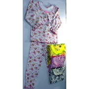 Пижама д/ девочек, интерлок Модель: 704-И Рост: 92,98,104 см. фото